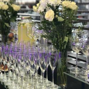 Фото - 3 Келих для шампанського на високій ніжці