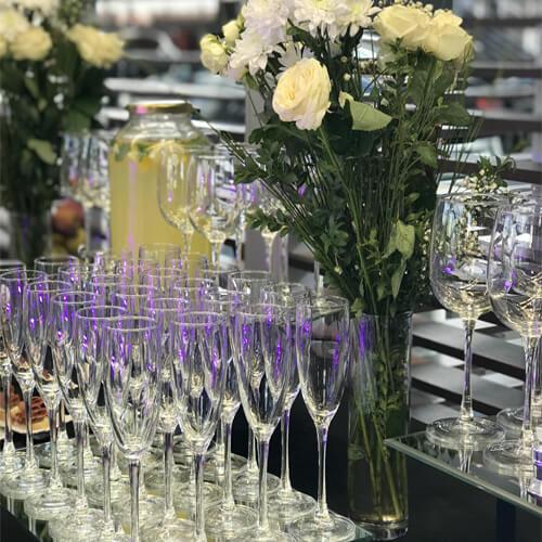 Фото - 2 Бокал для шампанского на высокой ножке