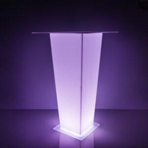 LED барный стол