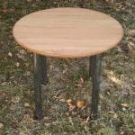 Фото - 4 Стол круглый на хром ножках, 90 см