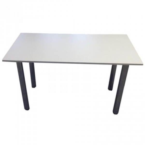 Фото - 1 Стол на хром ножках 120х60, серый