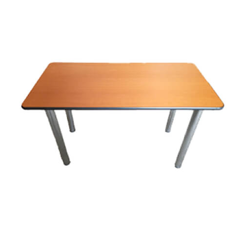 Стол на хром ножках, 120x60