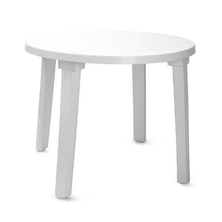 Фото - 1 Стол пластиковый, круглый