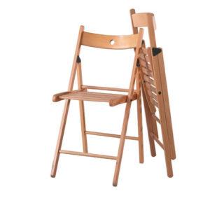 Фото - 1 Деревянный складной стул