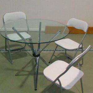"""Фото - 3 Складний стілець """"Thomas"""", білий"""