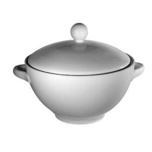 Фото - 1 Порцелянова супниця з кришкою, 1,5 л