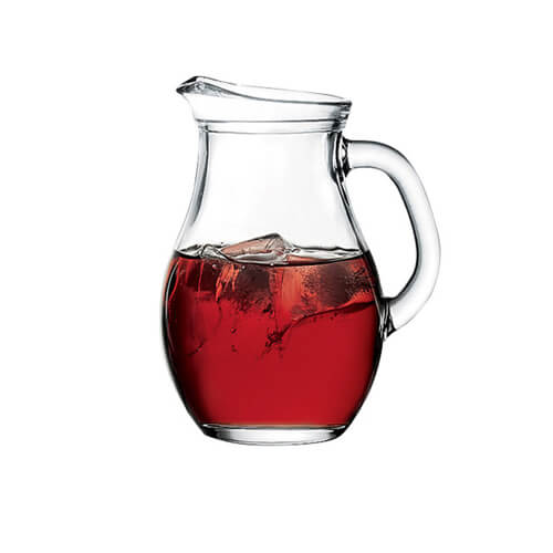 Фото - 2 Стеклянный графин для напитков, 1 л