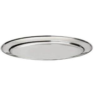 Фото - 1 Блюдо металеве овальне, 45 * 30 см