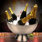 Фото - 4 Металлическая чаша для шампанского