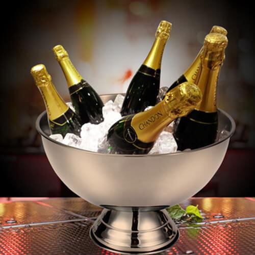 Фото - 2 Металлическая чаша для шампанского
