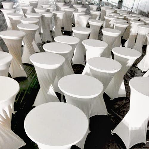 Фото - 2 Барный стол с белым чехлом