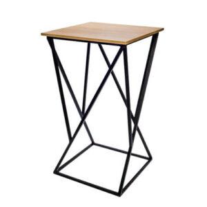 Фото - 1 LOFT барный стол квадратный, светлый