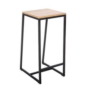 Фото - 1 LOFT барний стілець квадратний