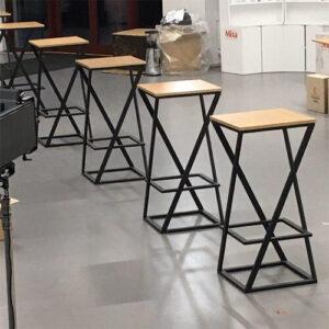 """Фото - 3 Барный стол в стиле loft """"Hardy"""""""