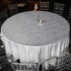 Фото - 1 Скатертина кругла, з візерунком d 300 см