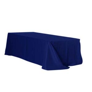 Скатерть прямоугольная,синяя