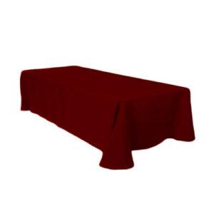 Фото - 1 Скатерть прямоугольная, бордовая 150х250 см
