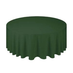 Фото - 1 Скатертина кругла, зелена d 330 см