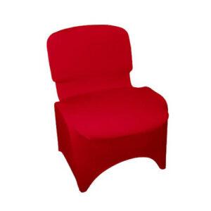 Фото - 3 Стрейчевий чохол на стілець, червоний