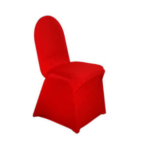Фото - 1 Стрейчевий чохол на стілець, червоний