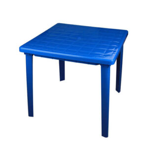 Стол пластиковый, синий