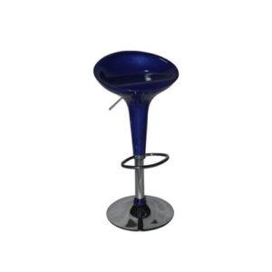 Стул барный Капля (синий)
