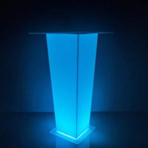 """Фото - 3 LED барний стіл """"RAY"""""""