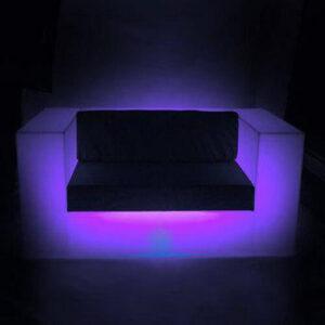 "Фото - 3 LED диван ""Brown"""