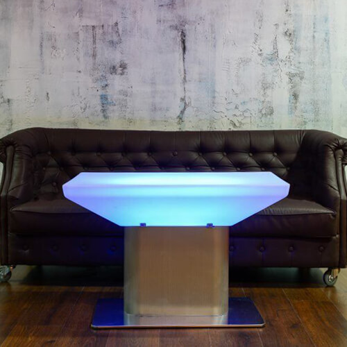 """Фото - 2 LED Стол тумба """"Kava"""""""