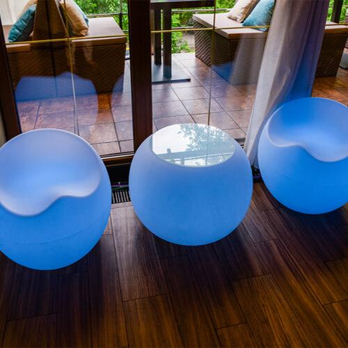 "Фото - 7 LED стіл ""Куля"""