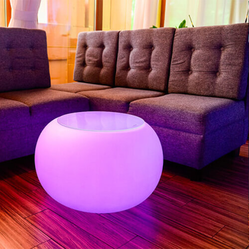 "Фото - 3 LED стол ""Шар"""