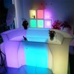 """Фото - 12 LED барна стійка """"Liner"""", пряма"""