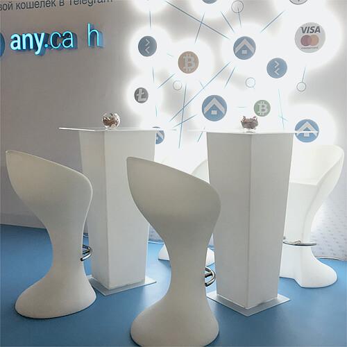 "Фото - 2 LED барный стул ""RAY"""