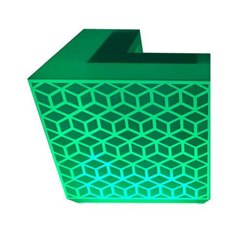 """Фото - 4 LED барная стойка """"3D Ice"""", прямая"""