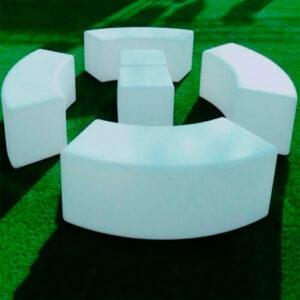 """Фото - 3 LED скамейка """"Wave"""""""