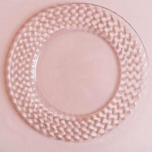 Тарелка подставная CHRYSTAL