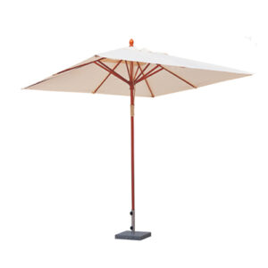 Зонт на деревянной ножке