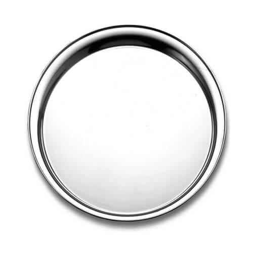 Фото - Блюдо металеве, кругле d 36 см