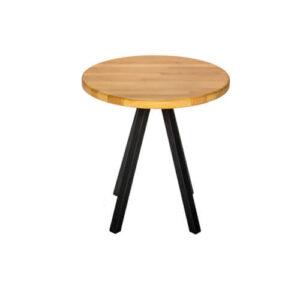 Круглый журнальный столик в стиле Loft