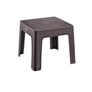 Фото - 1 Ротанговый журнальный столик, коричневый