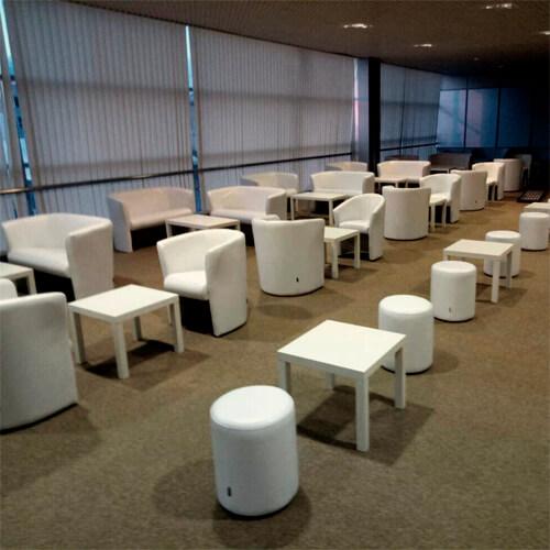Фото - 5 Журнальний столик білий, квадратний