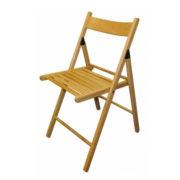 5 Деревянный складной стул с спинкой