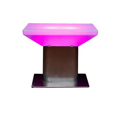 LED журнальный столик Тумба