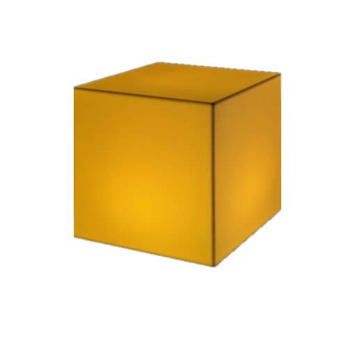 LED журнальный столик КУБ 50*50