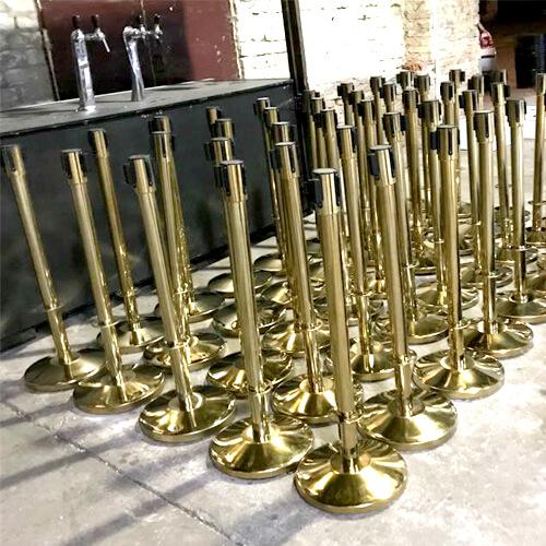 Фото - 3 Золотистый столбик с синей лентой