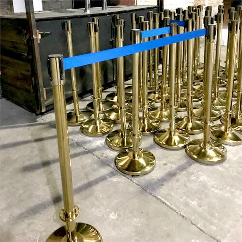Фото - 4 Золотистый столбик с синей лентой