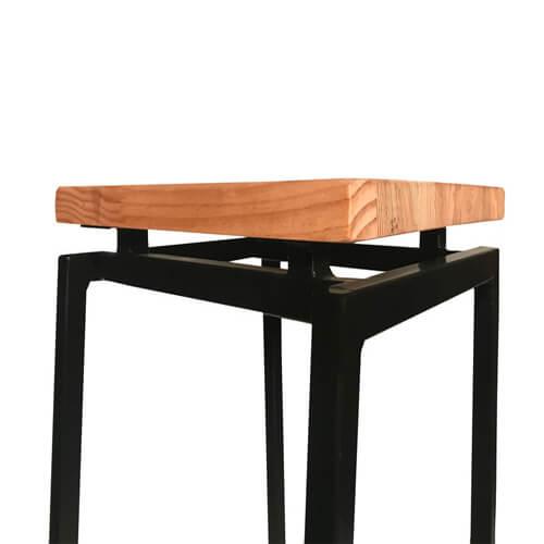 """Фото - 2 Барный стул в стиле loft """"Wood"""""""