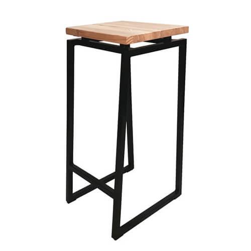 """Фото - 1 Барный стул в стиле loft """"Wood"""""""