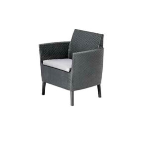 "Фото - 1 Кресло из плетеного ротанга ""Diva black"""