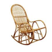Фото - 2 Плетенное кресло – качалка